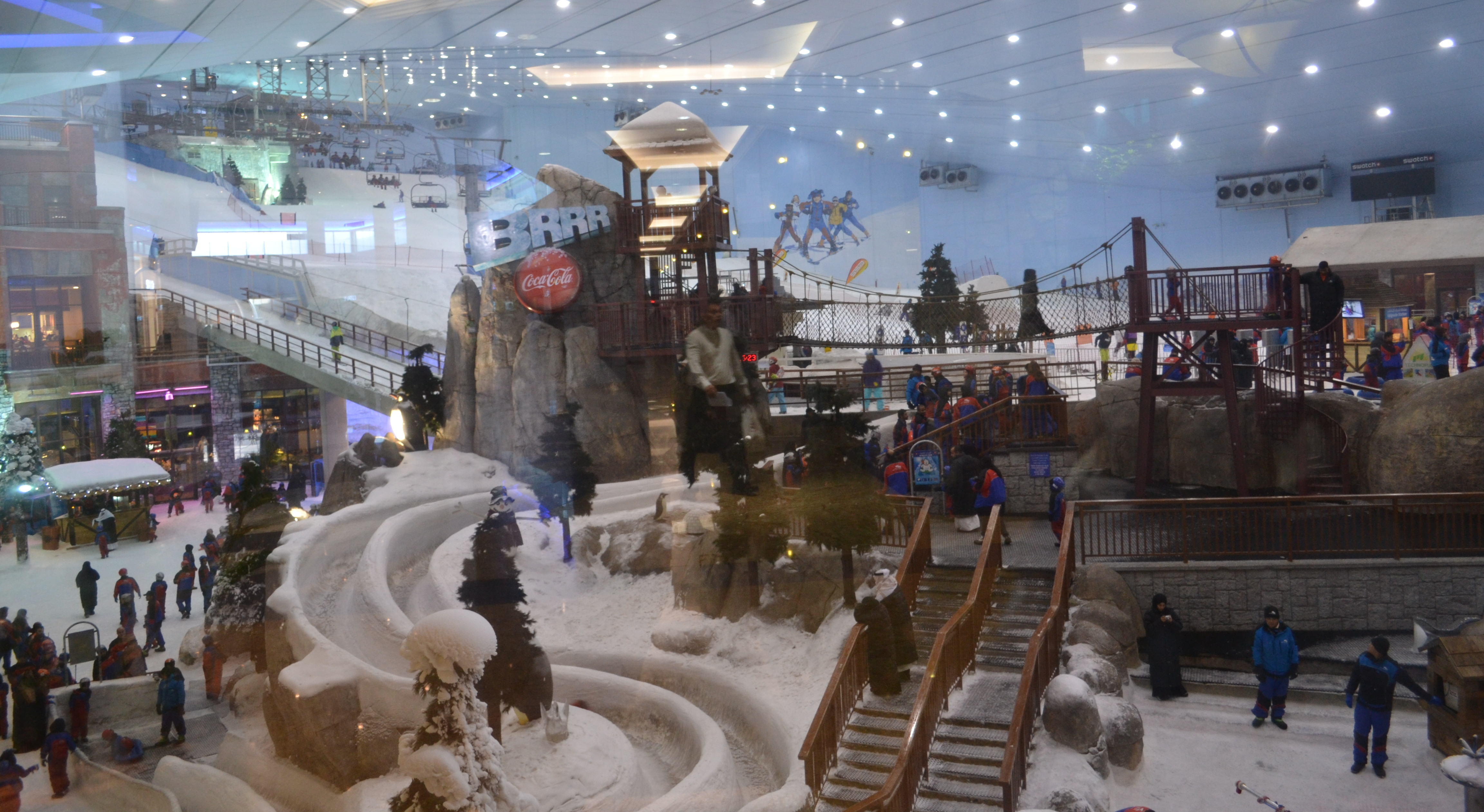 Ski Dubai: a maior estação de Ski Indoor.